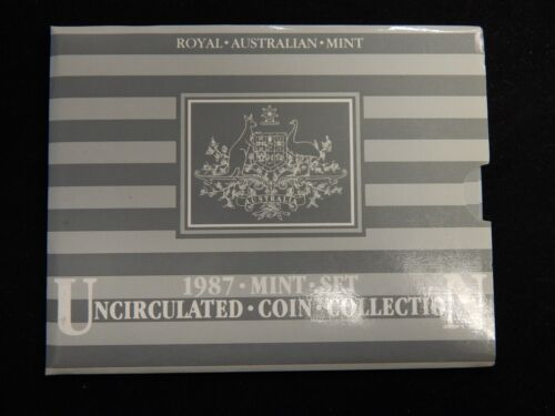1987 Australia Uncirculated Coin Collection