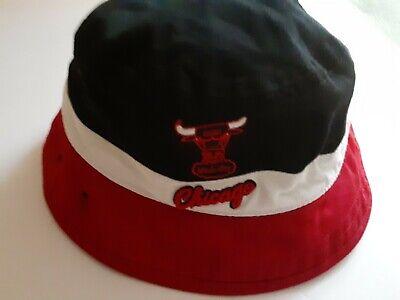 Chicago Bulls Nba large Bucket Red White And Black New Era