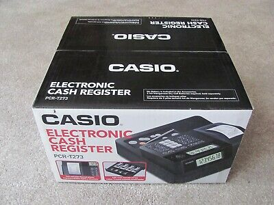 Brand New Casio Pcr-t273 Electronic Cash Register