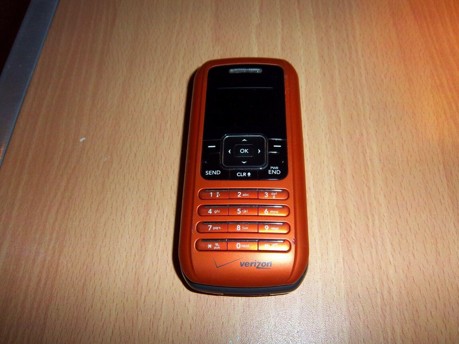 LG EnV VX9900 CELL PHONE, Special Color, Orange, Keyboard untested  - $4.99