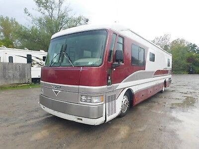 1995 American Dream Spartan Fleetwood Motorhome Diesel Pusher Class A RV Camper
