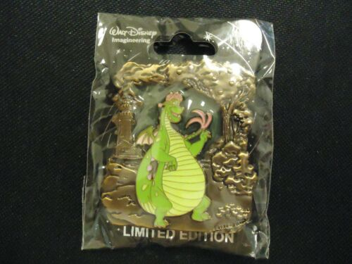 DISNEY WDI STAINED GLASS DRAGONS PETE
