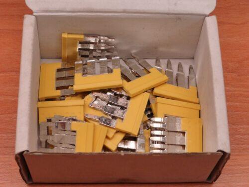 *28 PCS* ALLEN BRADLEY 1492-CJLJ6-4 TERMINAL BLOCK CENTER JUMPERS