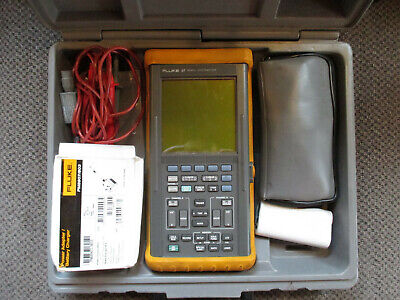 Fluke 97 50 Mhz Scopemeter Oscilloscope See Description