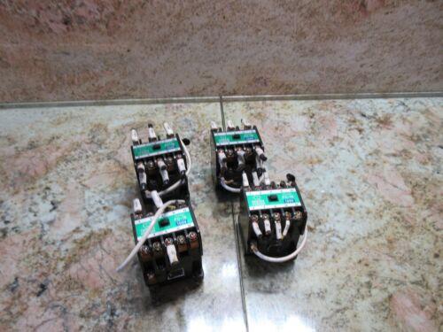 MATSUSHITA AC MAGNETIC CONTACTOR TYPE FC-18 CAT. BMF6-18-5-1 100V CNC EDM