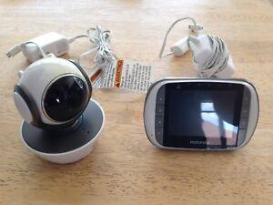 Moniteur caméra video pour bébé Motorola MBP85 Connect wi-fi