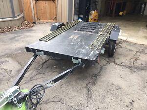 Snowmobile/Utility Trailer