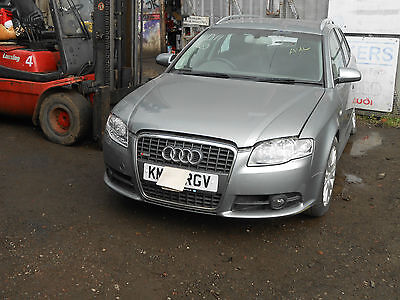 AUDI A4 B7 2005 2009 DAMAGED REAR LIGHT UNIT BREAKING SPARES REPAIR S LINE