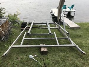 For sale stainless steel galvanized boat lift