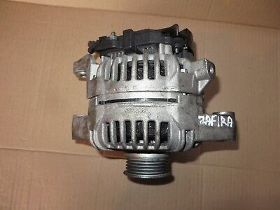 VAUXHALL ZAFIRA 16 18 16V 100 AMP ALTERNATOR 1999 2004 TESTED