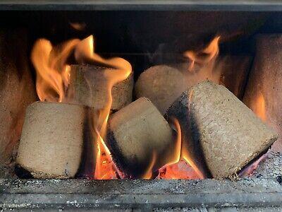 Hardwood Oak Heat Logs Firewood Briquettes Nuggets Fuel Logs 43L Box