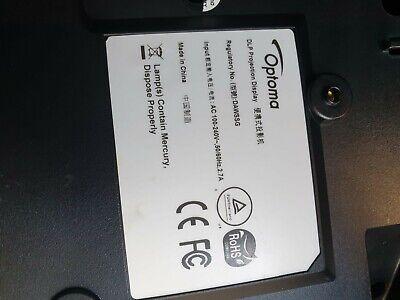 Optoma HD146X videoproiettore Proiettore montato a soffitto/parete 3600 ANSI lum