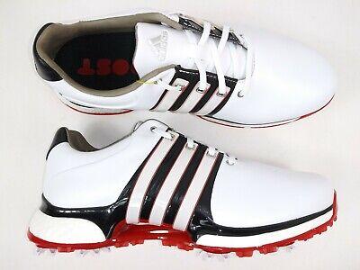 Adidas Mens Tour360 XT BB7922 White Red Golf Shoes Size 8