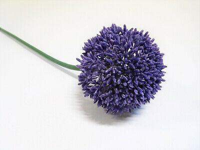 Allium Blüte Kunstblume 60 cm aubergine lila violett 302188-80 F16 16 Aubergine