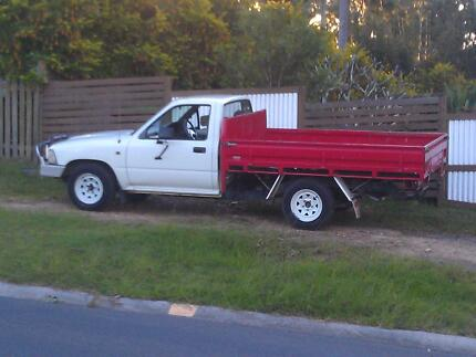 1993 Toyota Hilux Diesel Ute must sell Sandy Beach Coffs Harbour Area Preview