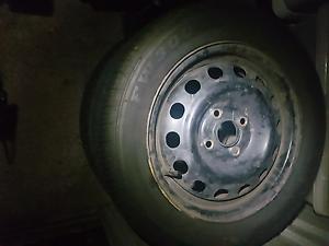 4x100 14inch steel wheels Cessnock Cessnock Area Preview