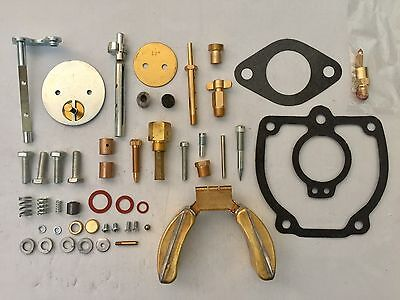 Farmall M Major Tractor Carburetor Repair Kit W Float - 47387db 50983db