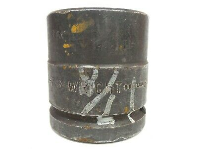Wright Impact Socket 1 78 6 Point 1-12 Inch Drive 84830 Free Shipping