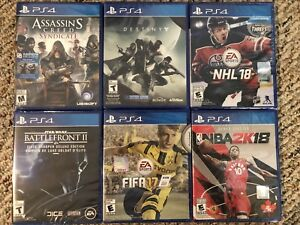 New PS4 games for trade