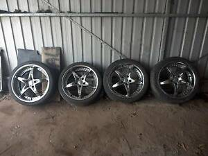 "19"" mags wheels for sale Merriwa Upper Hunter Preview"