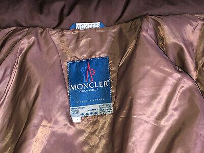 Luxueuse doudoune 3/4 marron duvet moncler taille 3 soit 40 fr excellent état