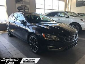 2015 Volvo V60 T6 Premier Plus, AWD, Backup Camera, Bluetooth