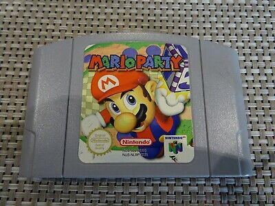 Mario Party N64 Cartridge Only PAL VGC