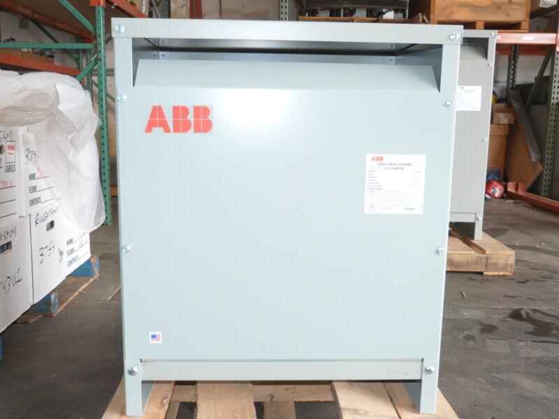 ABB 112.5 KVA Transformer Pri 480v Sec 208Y/120v 3PH GP0112AH480Y208 NEW