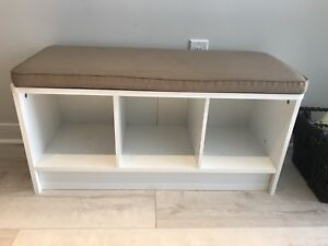 Bench with storage !