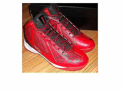 NWB Red/Black/White AND 1 AND ONE XCELERATE MID Basketball Shoes Sz 10 - And One Basketball Shoes