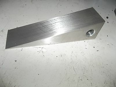 1 12 Square Aluminum Wedge W Lanyard Hole - Halligan Firefighter Forced Entry