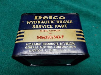 1958 Chevrolet Impala NOS Delco GM Wheel Cylinder 543-F 5456250 Front Moraine