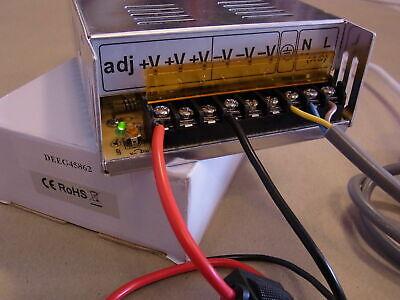 Spannungswandler 230V auf 12V = 240Watt  12V/20,0A Netzteil incl. Zubehör 12Volt - Wandler Zubehör
