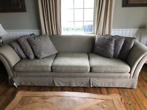 Victorian large sofa and 2 chairs