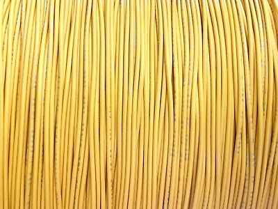 Yellow 22 Awg Gauge Stranded Hook Up Wire Kit 25 Ft Ul1007 300 Volt
