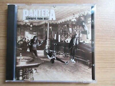 Pantera - Cowboys From Hell 1999 Korea CD Complete Version RARE