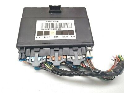 03-06 Chevy Truck BCM Body Control Module 15198115 S16