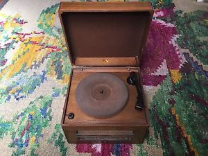Record player 1930's antique Clifton Hill Yarra Area Preview