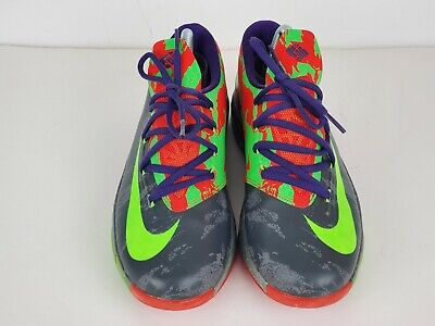 Nike Kevin Durant KD 6 Basketball Shoes Sneakers Boys Youth 599477-004 Size 7 Y