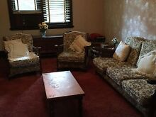 Very comfortable three seater lounge and two arm chairs Newcastle 2300 Newcastle Area Preview