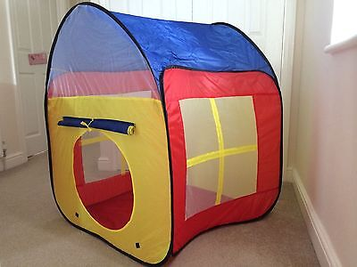 Snuggle up in an indoor tent