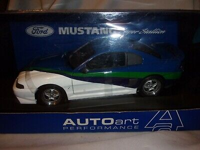 Auto-Art Mustang Super Stallion  NRFB 1/18 Box Minor wear from age