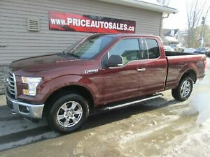2015 Ford F-150 XTR - HEATED SEATS - BACKUP CAM - REMOTE START!!