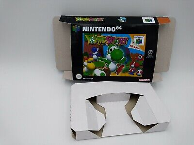 Yoshi's Story - Box reproduction with insert - N64 - NTSC, PAL or AU PAL.