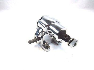 - Vega Steering Box GM, STREET ROD, HOT ROD Chrome BPS-4002