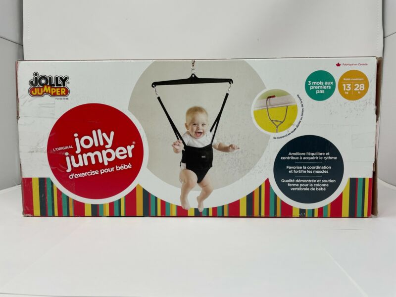 Jolly Jumper - The Original Baby Exerciser [Children Max Weight 28lbs] OPEN BOX