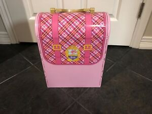 Barbie Princess Charm School Backpack and Dolls