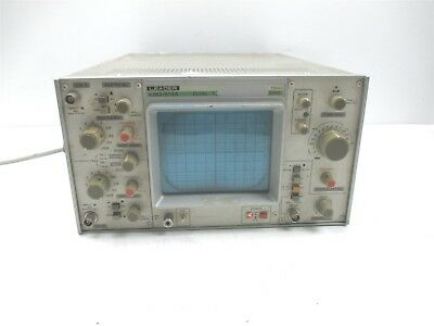 Leader Lbo-514a 15 Mhz Dual Trace Oscilloscope Lbo-514ap Laboratory Unit Lab