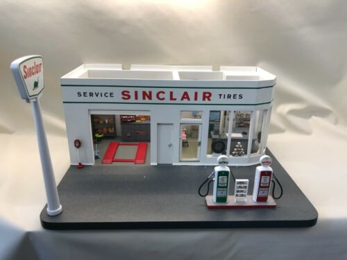 SINCLAIR GAS STATION | DANBURY MINT | 1:24