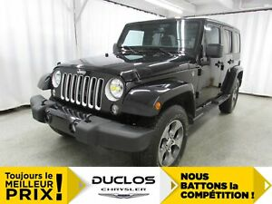 2018 Jeep Wrangler Unlimited Sahara*NAV*BLUETOOTH*DÉMARREUR*